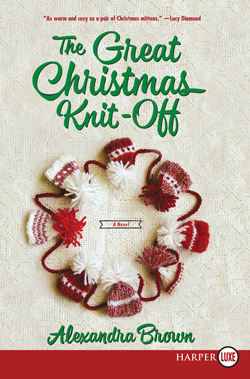 The Great Christmas Knit-Off by Alexandra Brown ~ Review
