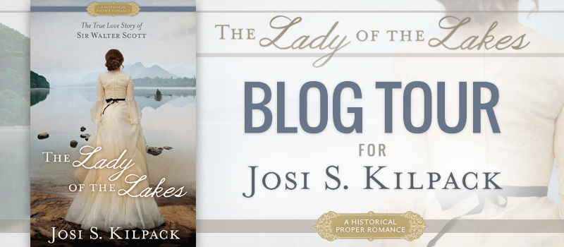 Lady of the Lakes - Blog Tour Image