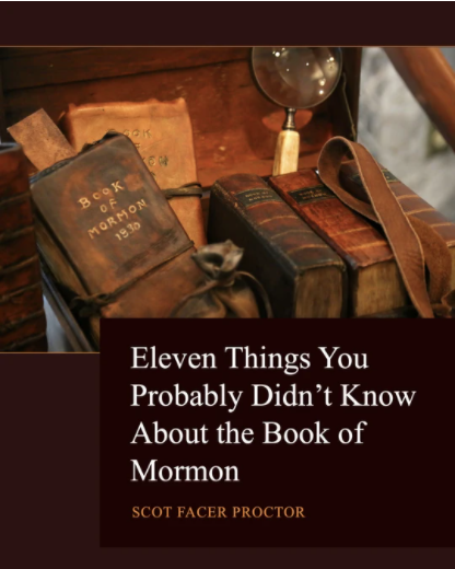 Eleven Things You Probably Didn't Know About the Book of Mormon Blog Tour and Giveaway